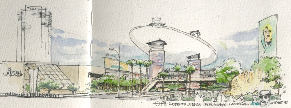 Forum Shops Sketch