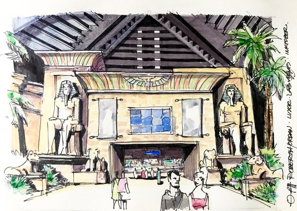 Luxor INT Sketch