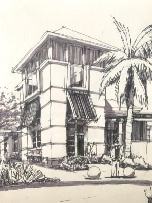 Pembroke Tower Sketch