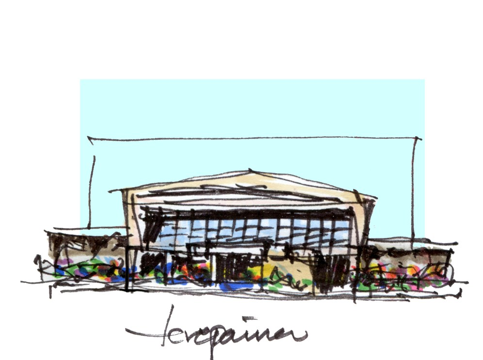 Mercado Terepaima Pre Sketch