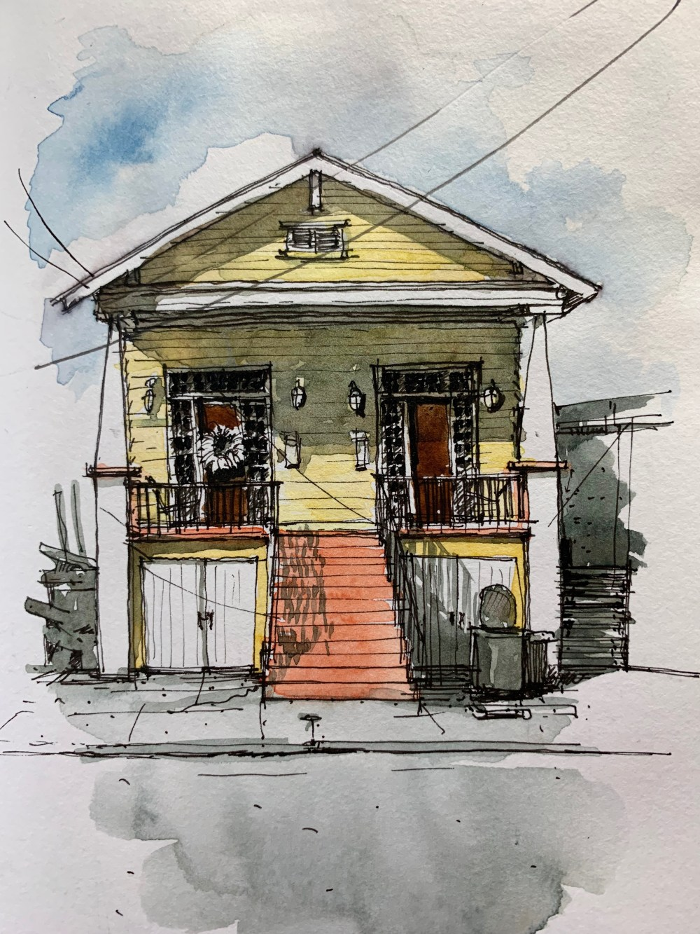 B&B New Orleans SKETCH