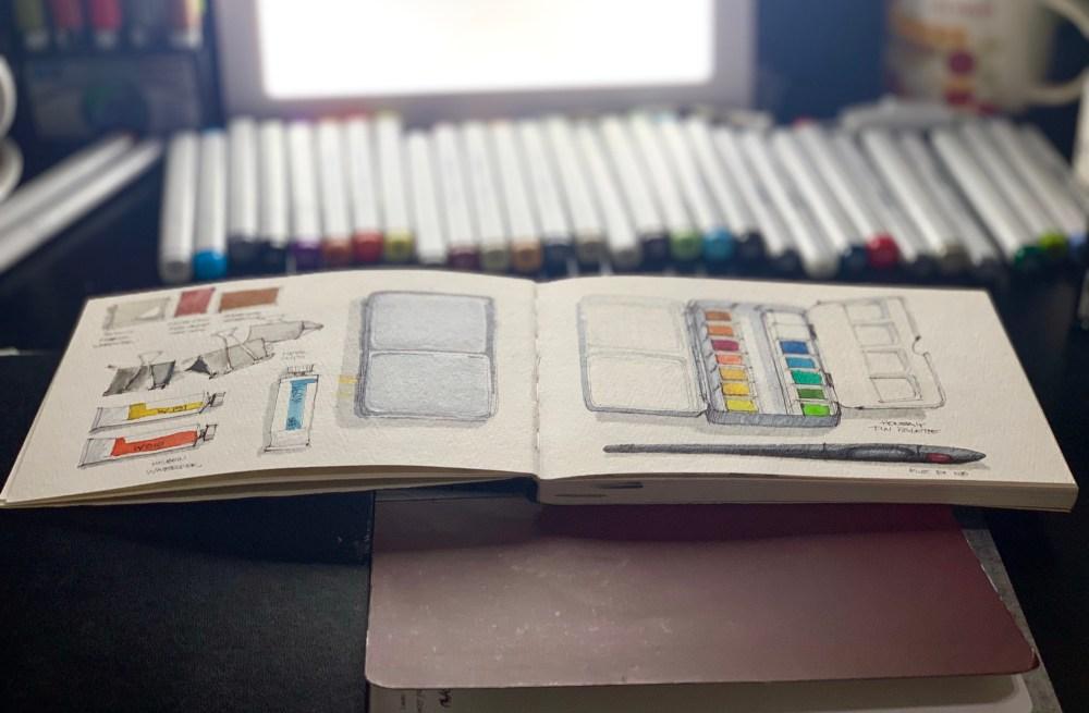 Travel Sketchbook 00