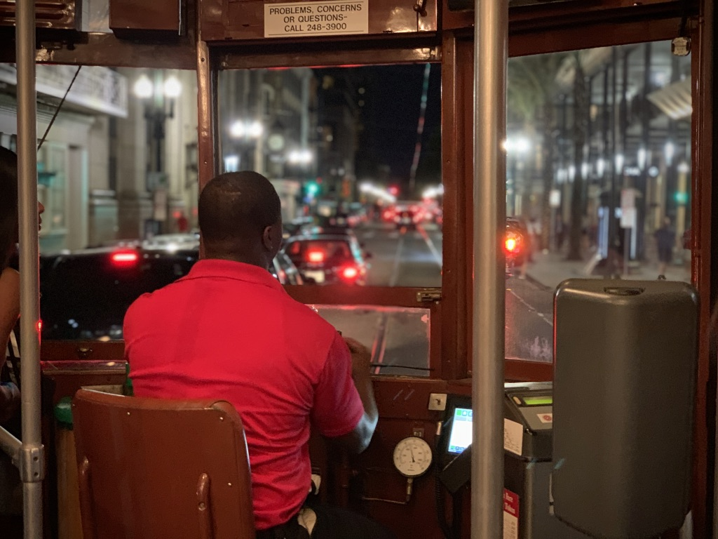 Streetcar Driver night-Airport - Bye bye New Orleans