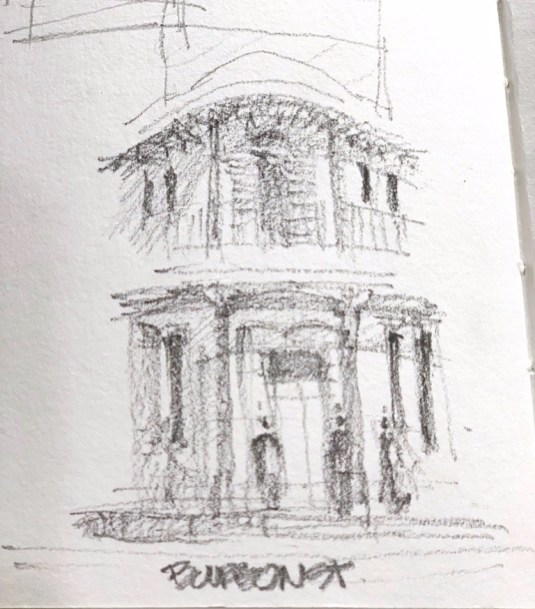 Bourbon corner pre sketch 02