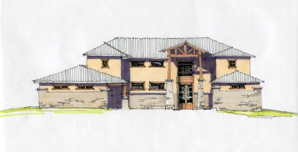 House Sketch in Rock Creek