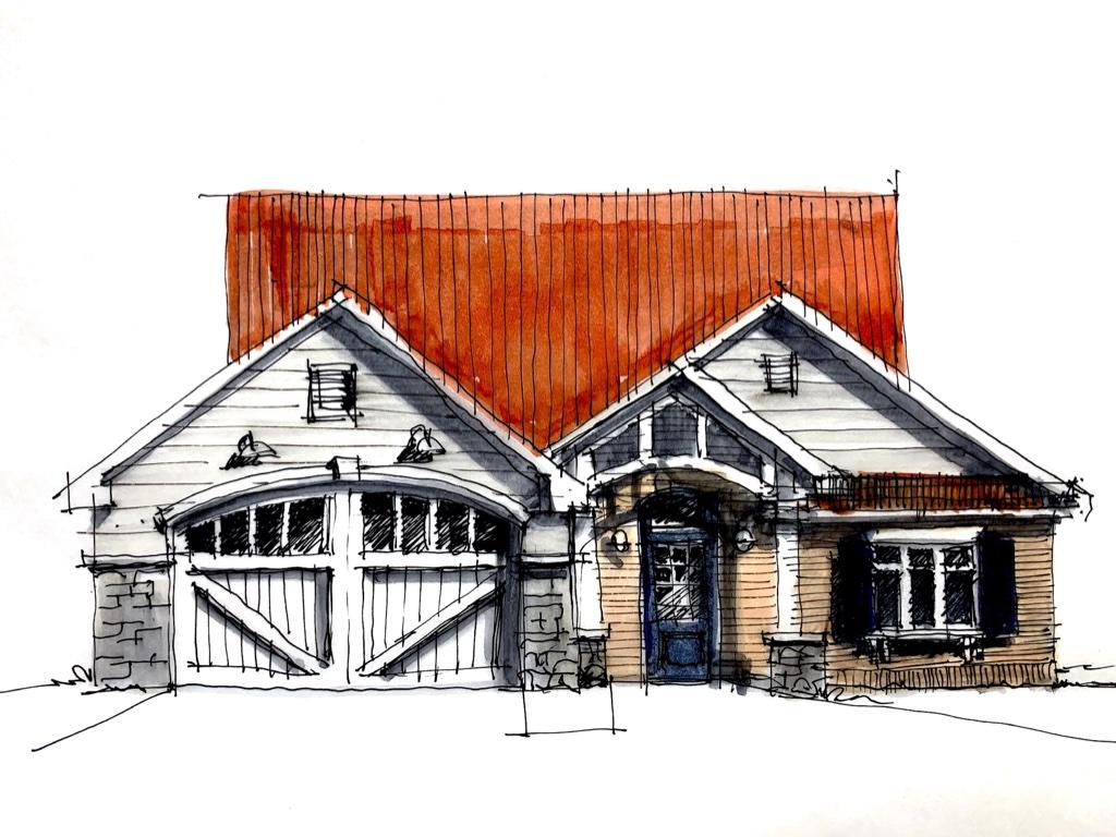 Farmhouse Sketches