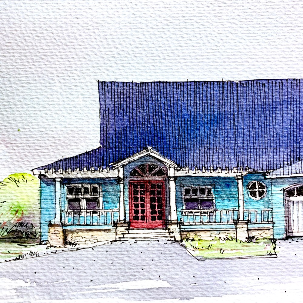 Southern House - Sketch