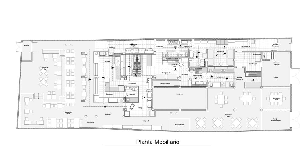 Proyecto Restaurant Duplo - Mobiliario