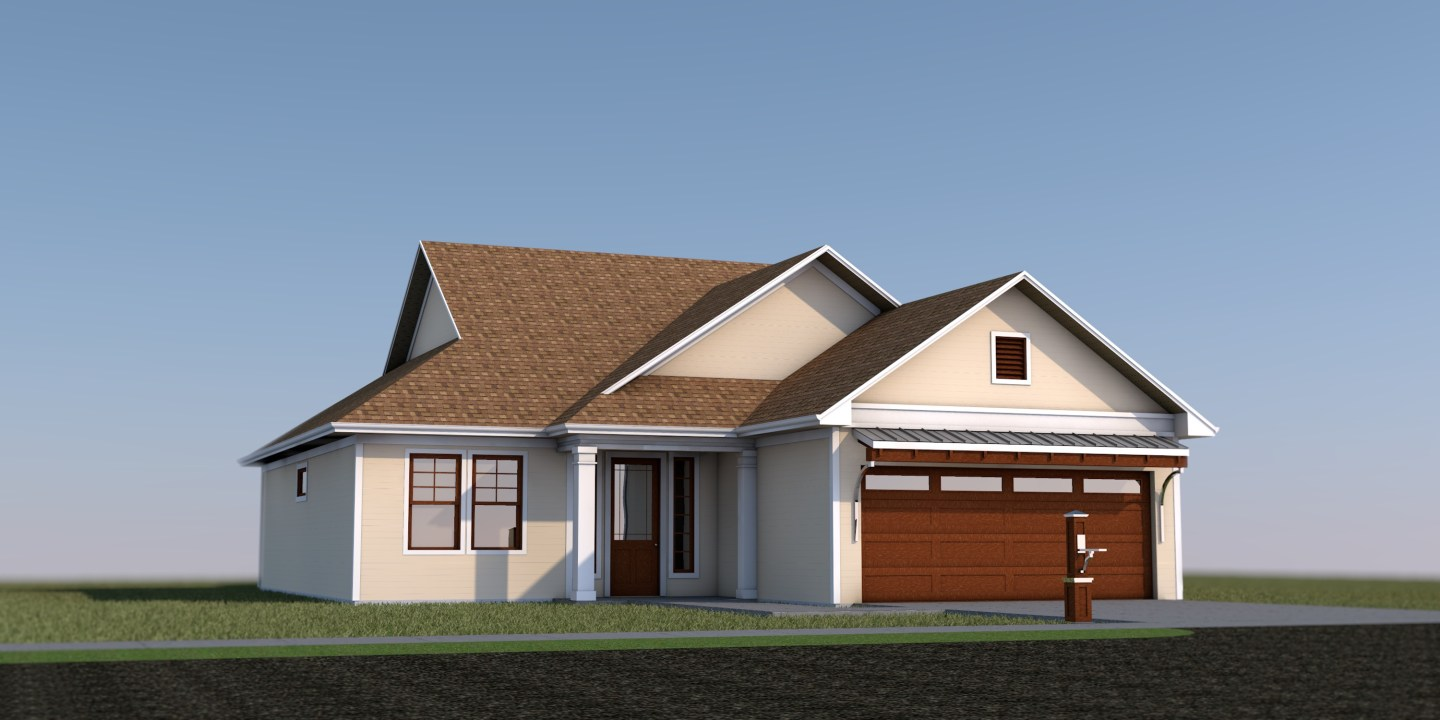 Mosquite House - Residential Design - 3D Render