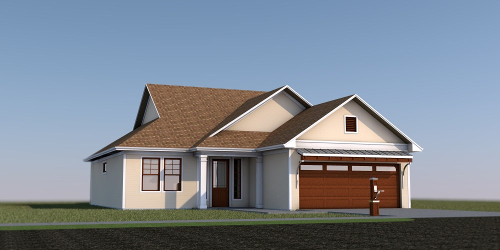 Mosquite House - Residential Design - 3D Render