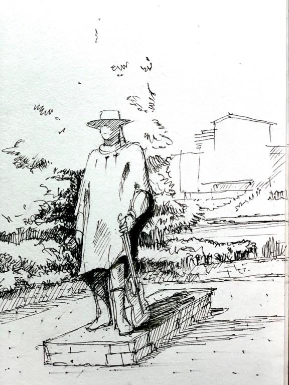 Stevie Ray Vaughan Sketch