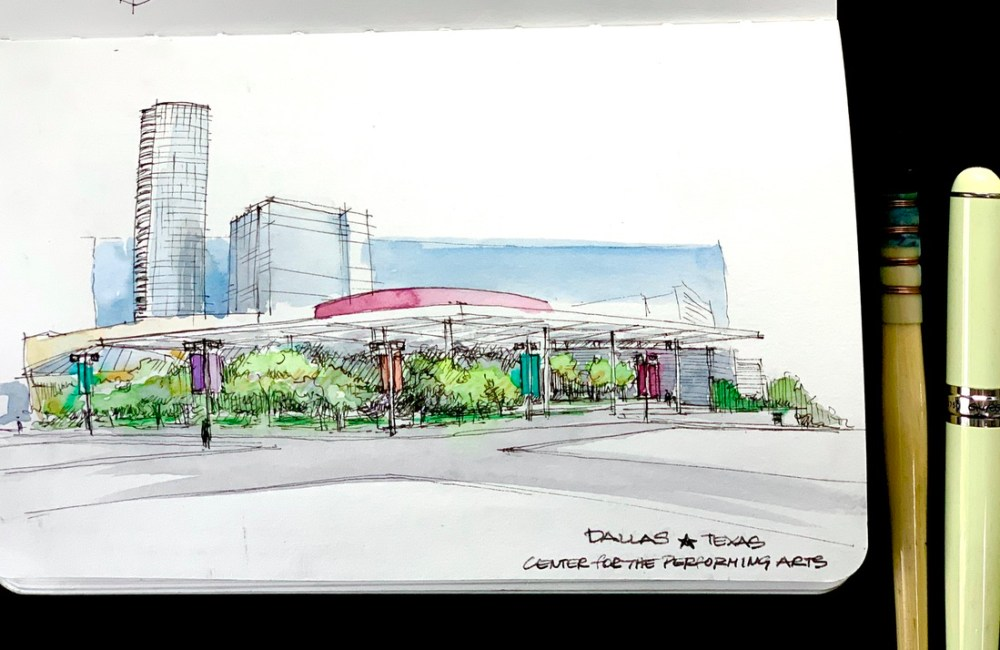 Performing Arts Center Sketch