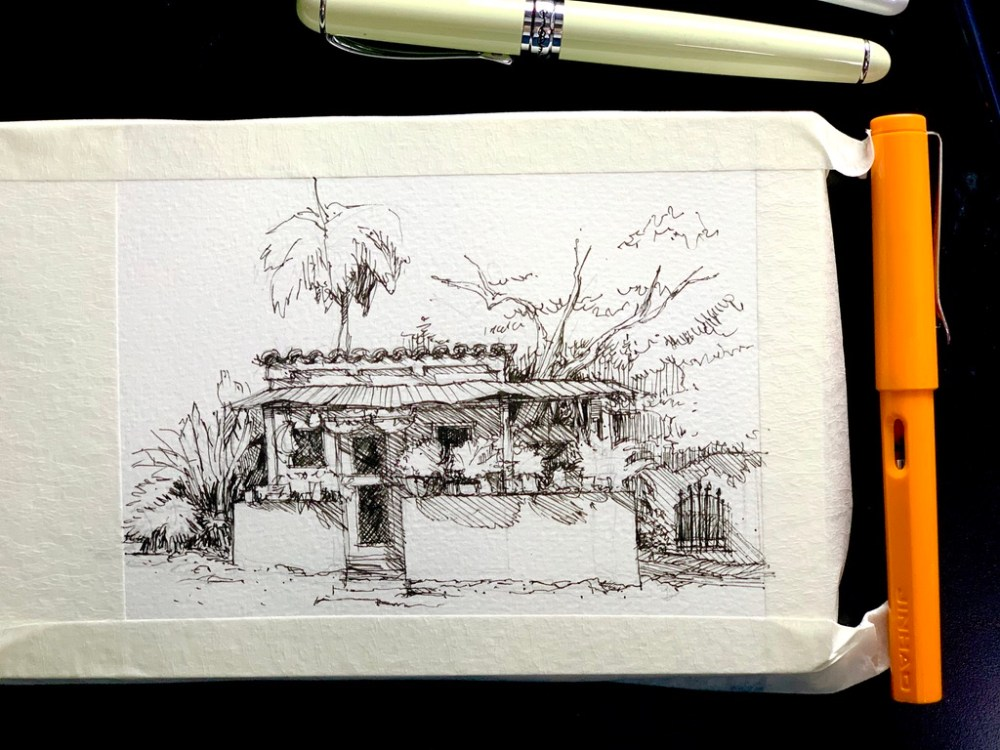 Tiny Ranch Sketch