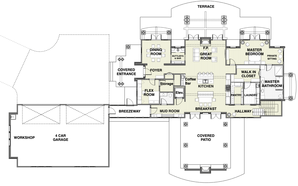 House Plan Main Floor