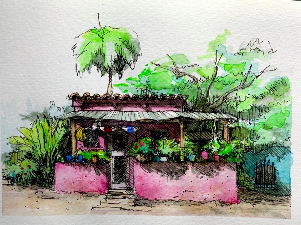 Santa Rosa Ranchito Sketch