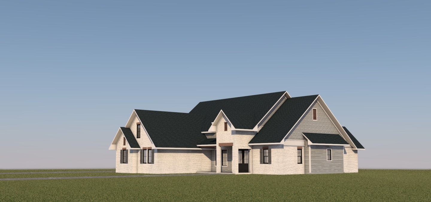 Modern Farmhouse - House Design