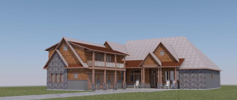 Craftsman Mountain House design