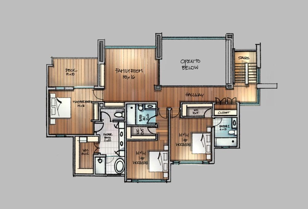 Contemporary House Floor Plan