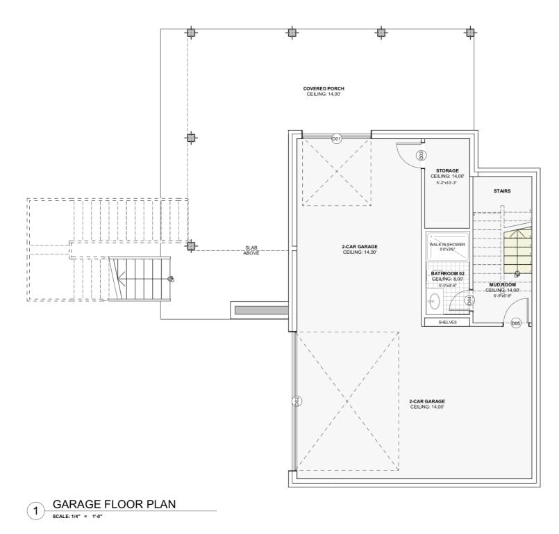 House Plan - Garage Level