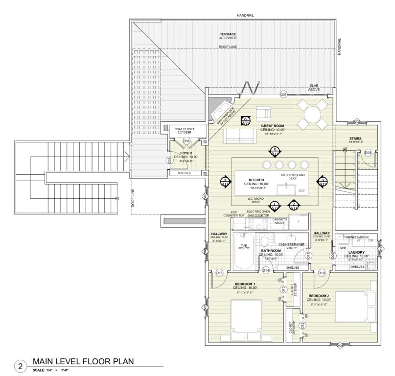 House Plan - Main Level
