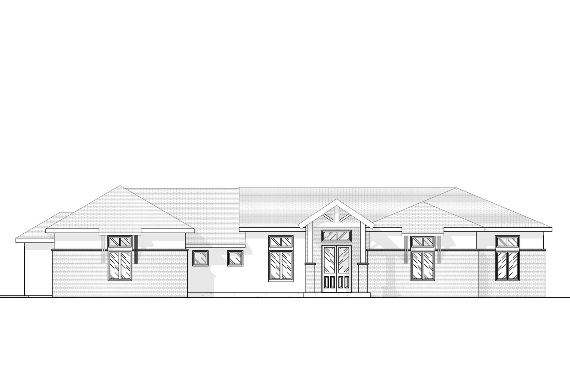 Contemporary Prairie House