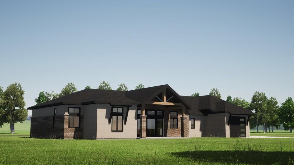 New Prairie House Render