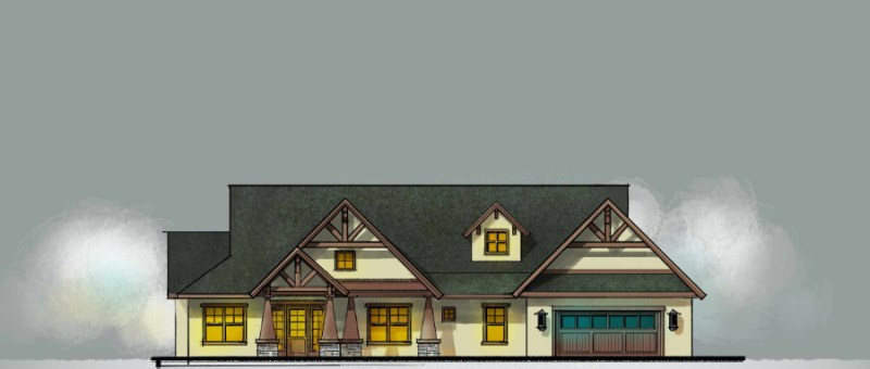 CRAFTSMAN HOUSE SKETCHES