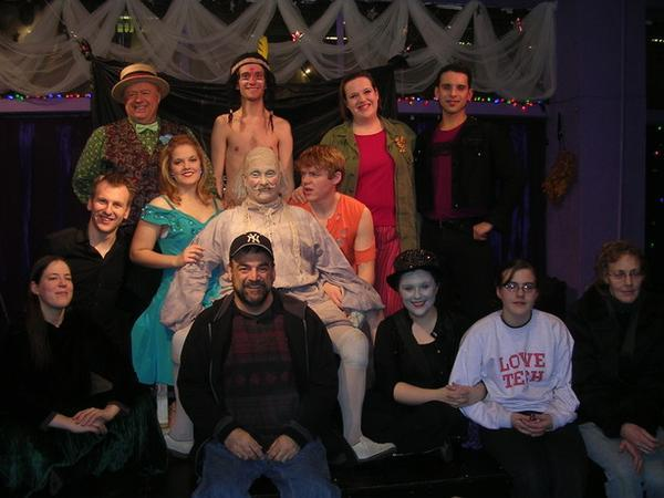 """Theo Ubuique's cast and crew of """"The Fantasticks"""""""