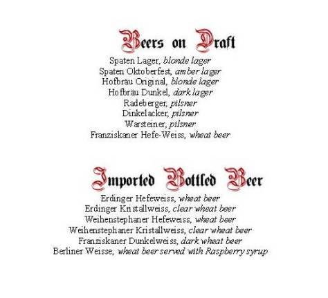Heidelberg Beer