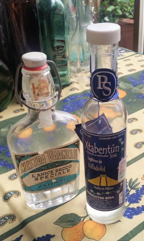 anisette bottles