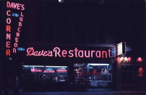 I had many late-night burgers deluxe at Dave's Corner on Broadway and Canal Street.