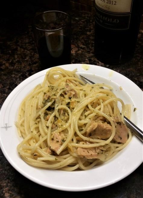 Spaghetttata con Limone e Tonno