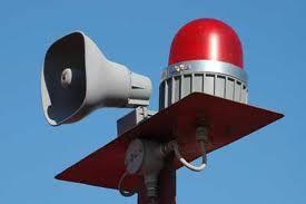 air raid siren