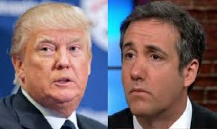 Trump and Michael Cohen