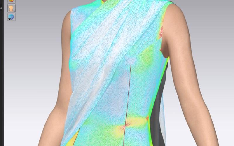 Modeling a dress in Clo3D