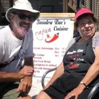 Crystal Beach makers market Sandra Ray's Cajun cuisine