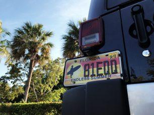 Naples | Car Sign