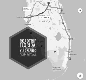 Road trip from Clearwater to Miami