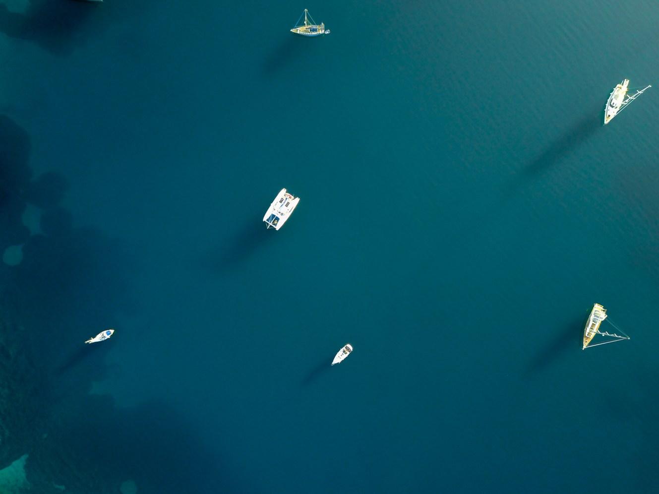 Korfu Island Aerial Shot