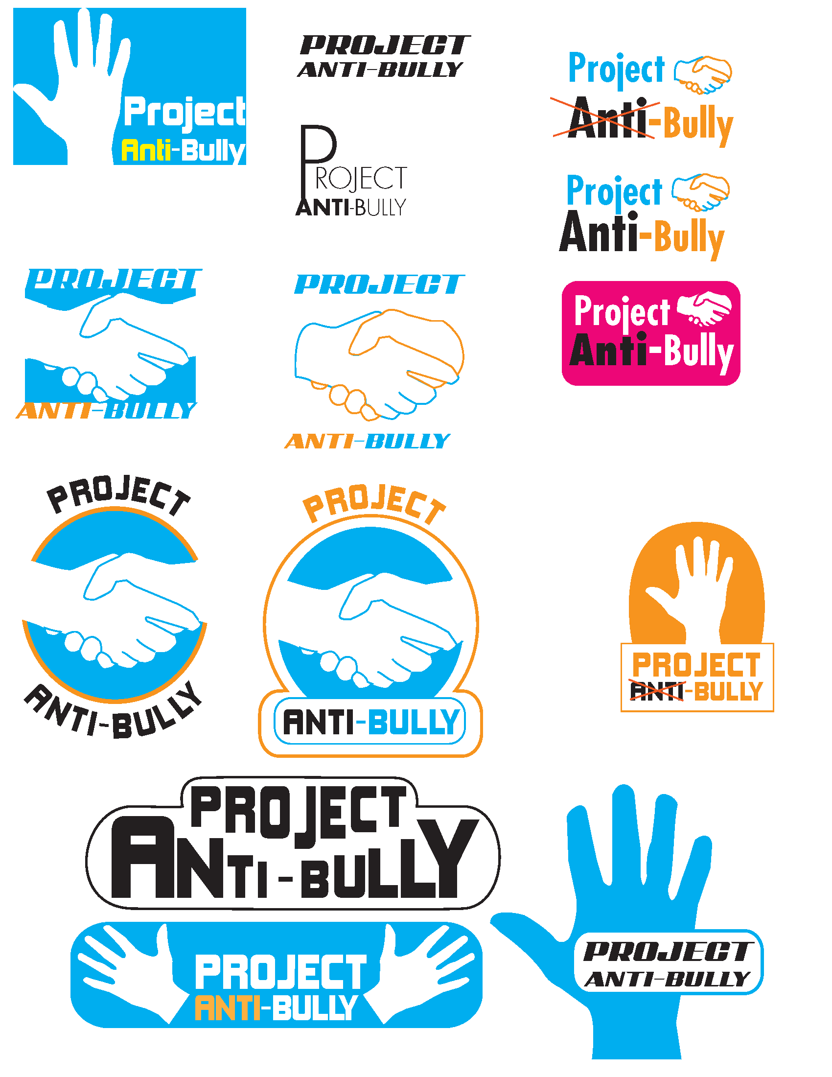 New Project Anti Bully Pab Logo Ideas