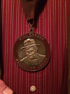 Will Rogers Medallion 3