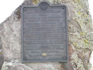 Fort Sedgwick Marker