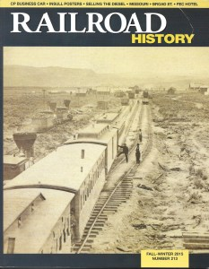 Railroad History Magazine