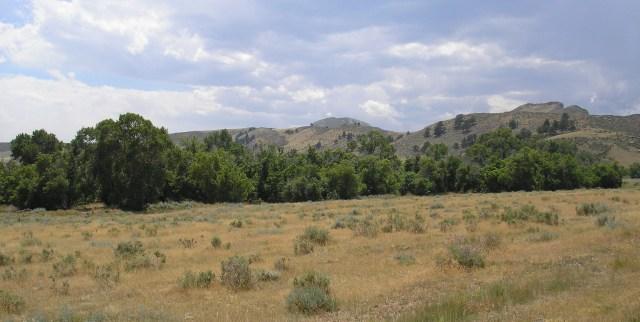 Imagined location of Cheyenne village.