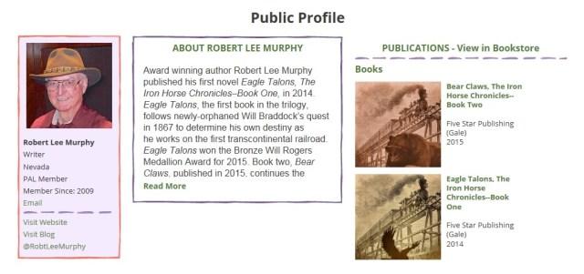 SCBWI Public Profile