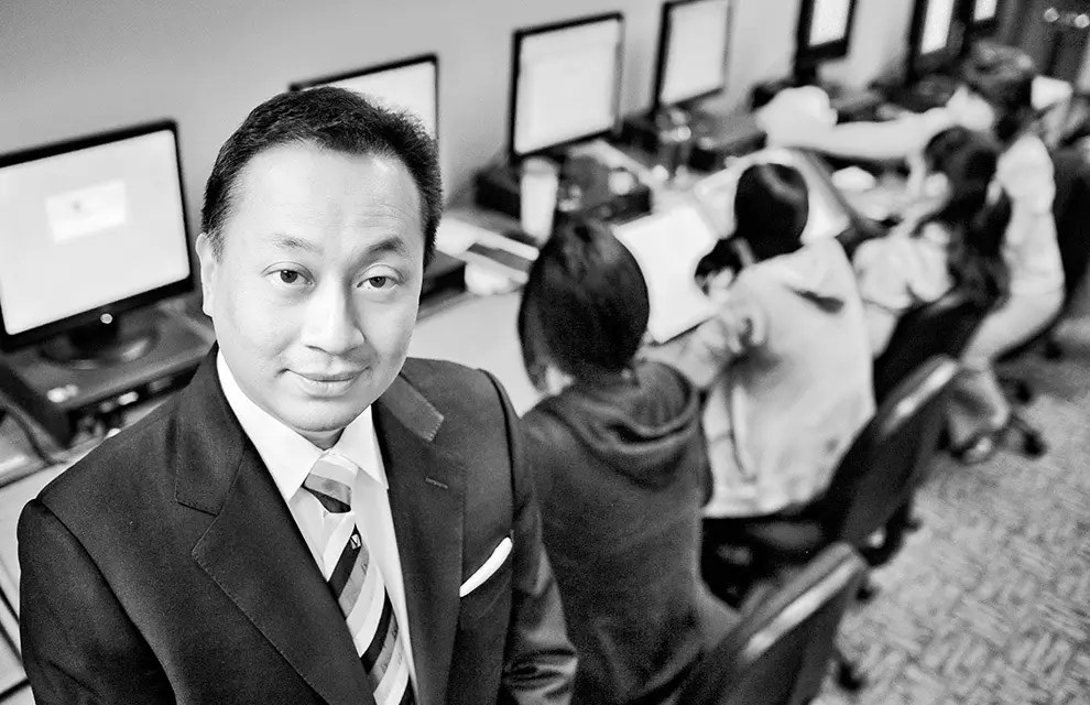 Assignment for The Chronicle of Higher Learning USA about Toby Chu, Chairman, President and CEO of CIBT Group Vancouver, Canada.