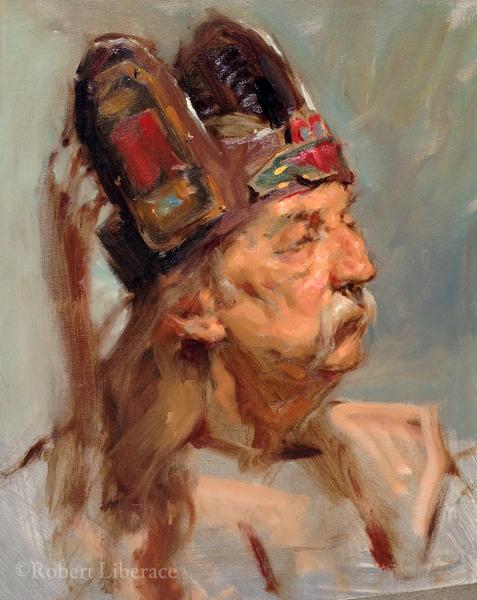 Robert Liberace, Demo-of-man-in-hat