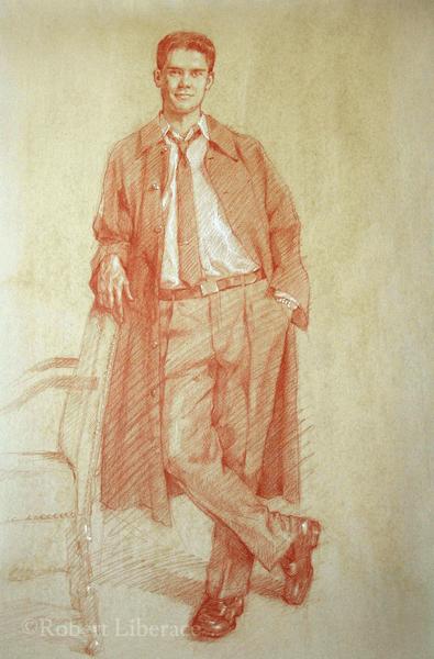 Robert Liberace, Dan, Red-chalk