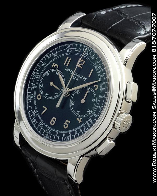 PATEK PHILIPPE 5070 P CHRONOGRAPH PLATINUM :: All Watches