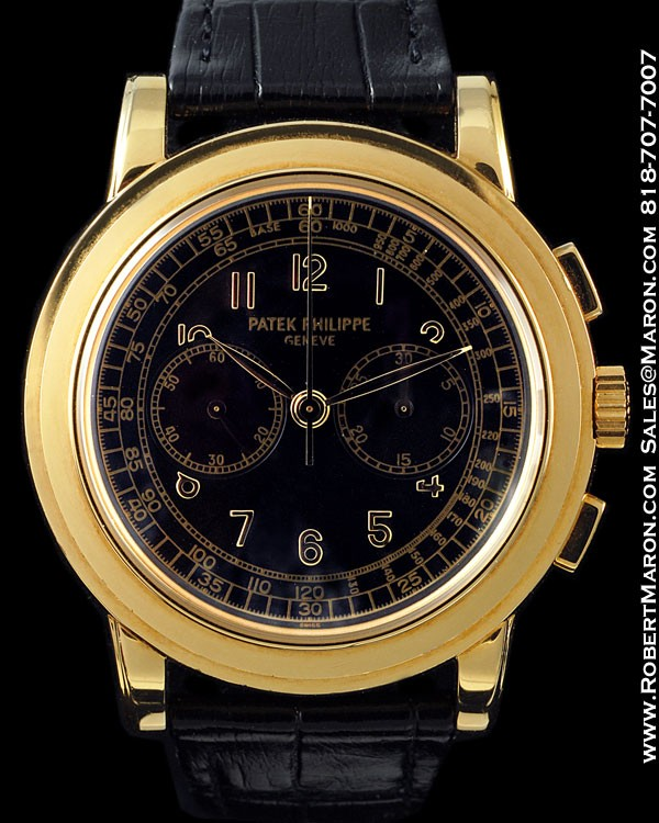 PATEK PHILIPPE 5070 J CHRONOGRAPH 18K :: All Watches :: Robert...